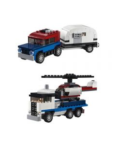 Lego Creator Veículos de Transporte 341 Peças - 31091 - Branco