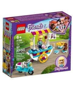 Lego Friends Carrinho de Sorvetes 97 Peças - 41389