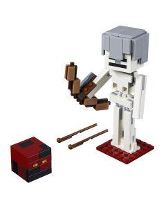 Lego Minecraft Grande Esqueleto com o Cubo Magma 142 peças - 21150