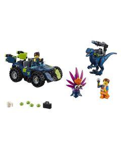 Lego Movie 3 Em 1 Rextreme Offroader do Rex 236 Peças - 70826
