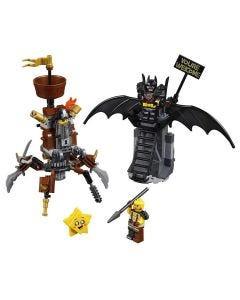 Lego Movie Batman Barba de Ferro Prontos para Batalha 168 Peças - 70836
