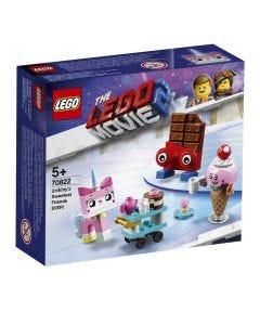 Lego Movie Os Mais Fofos Amigos da Unikitt 76 Peças - 70822