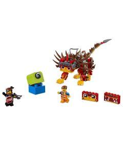 Lego Movie Ultrakatty e Guerreira Lucy 348 Peças - 70827
