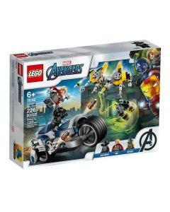 Lego Super Heroes Ataque dos Vingadores 226 Peças - 76142