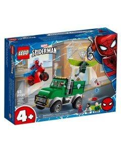 Lego Super Heroes O Assalto ao Caminhoneiro 93 Peças - 76147
