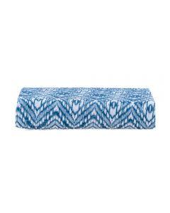 Lençol Avulso Queen Com Elástico 150 Fios Solecasa - Silver Azul