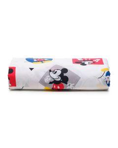 Lençol Solteiro Avulso com Elástico Disney - Mickey Play