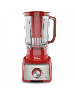 Liquidificador 1200W Vermelho PLQ912V Philco