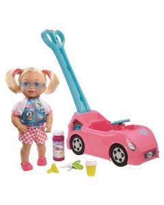 Little Mommy Passeio com Bolhas Mattel - GFJ09 - Rosa