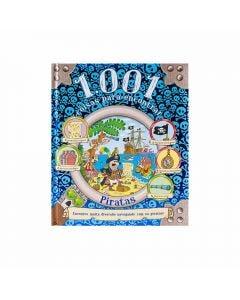 Livro 1.001 Coisas Para Encontrar Piratas Ciranda Cultural - Azul