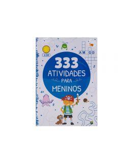 Livro 333 Atividades Para Meninos Todolivro - Branco