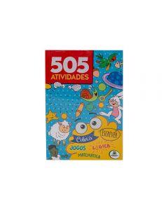 Livro 505 Atividades Todolivro - Azul