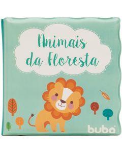 Livro de Banho para Bebê Buba - Animais Da Floresta