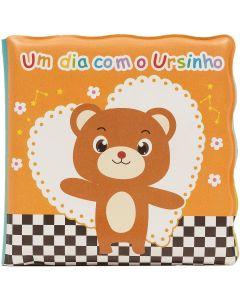 Livro de Banho para Bebê Buba - Um Dia Com o Ursinho