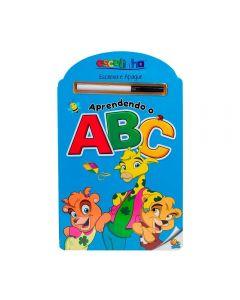 Livro Escreva e Apague Todolivro - Aprendendo ABC