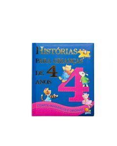 Livro Histórias Para Crianças De 4 Anos Todolivro - Azul