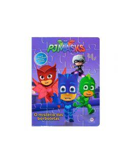 Livro O Mistério Das Borboletas Todolivro - PJ Masks
