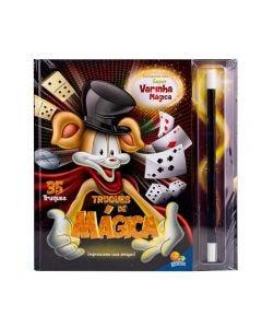 Livro Truques de Mágica com Varinha Todolivro - Preto