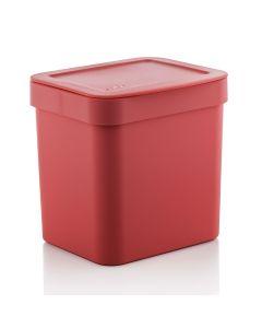 Lixeira 2,5 L Trium Ou - Vermelho