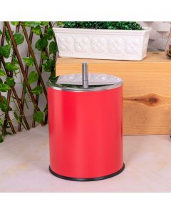 Lixeira Classic Redonda 5 Litros - Vermelha