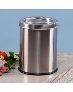 Lixeira Basculante 3 litros Inox Solecasa - Inox