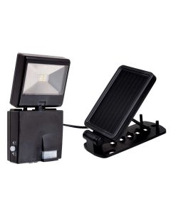 Luminária Solar com Sensor Ecoforce 15560 - Preto