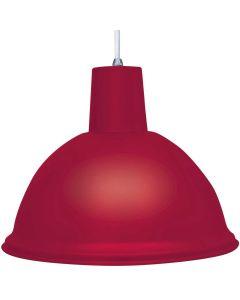 Luminária Tipo Pendente Bivolt TD821 Taschibra - Vermelho