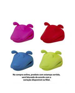 Luva De Silicone De Cachorro 10X10x9,5Cm Solecasa - Sortidas