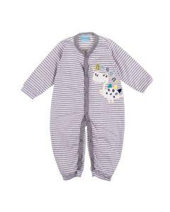 Macacão de Bebê Dino Yoyo Baby Listrado