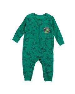 Macacão de Bebê Dinos Brandili Verde