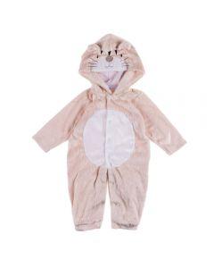 Macacão Infantil Tigre Yoyo Baby Bege