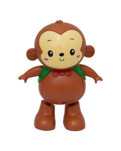 Macaquinho Dançarino Jack Dancer R2727 BBR Toys - Marrom