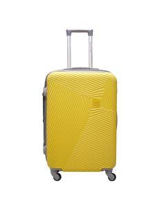 Mala Turquesa Grande Polo King ABS 360º - Amarelo