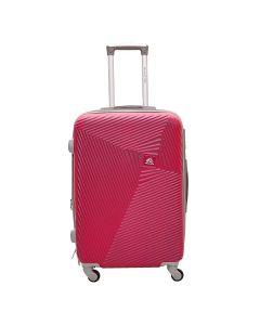 Mala Turquesa Média Polo King ABS 360º - Pink