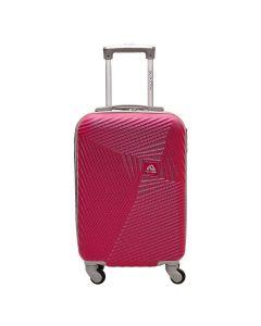 Mala Turquesa Pequena Polo King ABS 360º - Pink