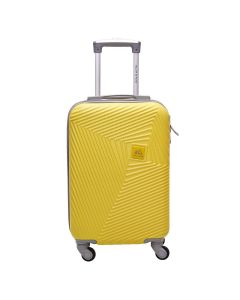 Mala Turquesa Pequena Polo King ABS 360º - Amarelo
