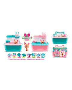 Maleta 5512 Dr. Canino Pet Roma Brinquedos - Rosa