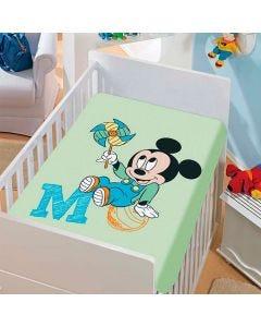 Manta para Bebê Microfibra 80cm x 110cm Bebê Disney Jolitex - AZUL/MENINO 855999.77156