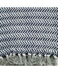 Manta Decorativa para Sofá 1,25x1,50m Miami - Escura