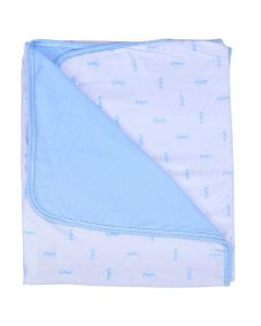 Manta Dupla Face 0,78x0,78cm Flanelada Baby Joy - Carrinhos