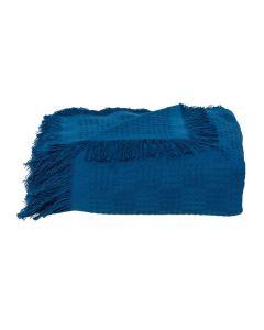 Manta Para Sofá 1,60X2,10M London Dohler - Azul