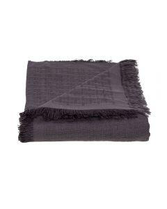 Manta Para Sofá 1,20X1,50M Unicolor Dohler - Cinza