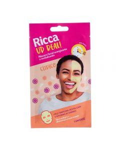 Máscara Facial Energizante E Revitalizante Ricca - Amarelo