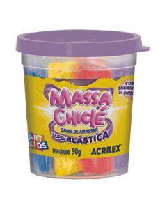 Massa Chiclé Goma De Amassar 90 Gramas Acrilex - 7615