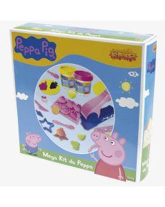 Massa de Modelar Mega Kit Peppa Pig Sunny - Azul
