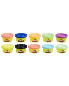 Massa de Modelar Play-Doh 10 Potes 22037 Hasbro - Colorido