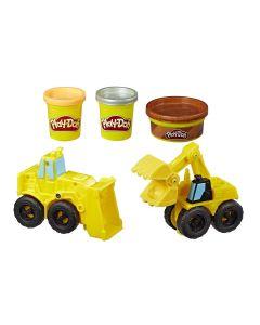 Massa de Modelar Play-Doh Escavadeira e Carregadeira Hasbro - E4294