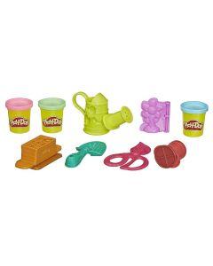 Massa de Modelar Play-Doh Kit de Jardinagem Hasbro - Colorido