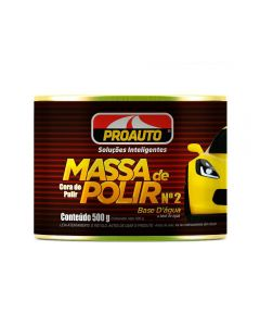 Massa Para Polir Nº2 500G Proauto - 1598