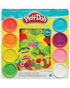 Massinha de Modelar Letras e Números Play-Doh Hasbro - Amarelo